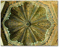 Cúpula de la Mezquita de Córdoba, España