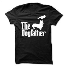 The DogFather Welsh Corgi - #shirtless #mens zip up hoodies. BUY NOW => https://www.sunfrog.com/Pets/The-DogFather-Welsh-Corgi.html?60505