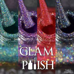 Glam Polish: Four new rich holo glitters to drool over by simplynailogical