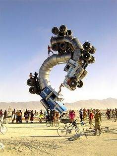 She's a jar... with a heavy lid... | truck-art-installation-burning-man