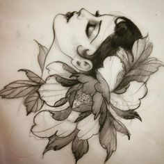Fun, creative, rebellious, many people love getting tattoos and use them as a platform for self-expression. Tattoos can be satisfying both physically while looking at them and mentally when you con… Maori Tattoos, Neotraditionelles Tattoo, Tattoos Mandala, Tatto Ink, Tattoo Motive, Flower Tattoos, Body Art Tattoos, Leg Tattoos, Rose Tattoos