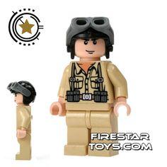 LEGO Indiana Jones Mini Figure - German Soldier 1 | Indiana Jones LEGO Minifigures | LEGO Minifigures | FireStar Toys
