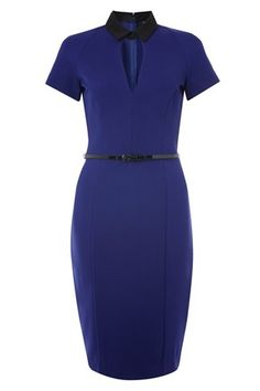 Love the retro feel to this dress. MARY STRETCH DRESS - French Connection, $89.99