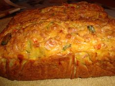 Chec aperitiv - CAIETUL CU RETETE Cake Courgette, Meatloaf, Lasagna, Baked Potato, Banana Bread, Food And Drink, Baking, Ethnic Recipes, Desserts