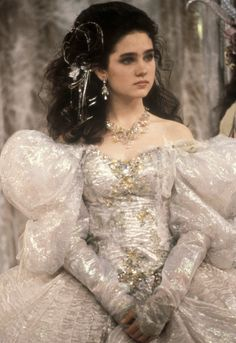 Sarah played by Jennifer Connelly in Labyrinth 1986. One of my all time favorites. I always wanted this dress.
