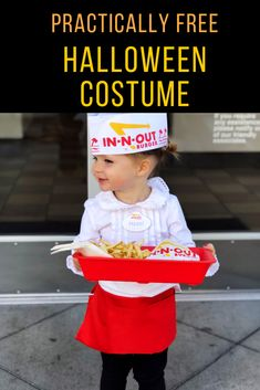 The easiest DIY Halloween Costume for In-N-Out employee - Twin Tested Last Minute Halloween Costumes, Halloween Diy, Diy Costumes, Costume Ideas, In & Out, Easy Diy, Finding Yourself, Tips, Blog