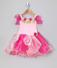 Pink Flower Ivy Dress - Toddler & Girls