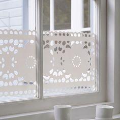 Decorative Window Film by Studio Haijke - http://www.cozybliss.com/decorative-window-film-by-studio-haijke/
