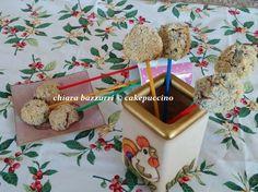 Cake pops salati di ricotta e radicchio. #ricetta di @cakepuccino_fb