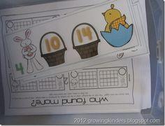 Kindergarten Easter centers