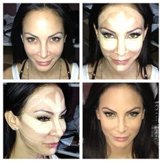Highlighting & contouring for oval & round face shape ...