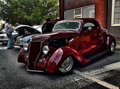 Black Cherry Hot Rod