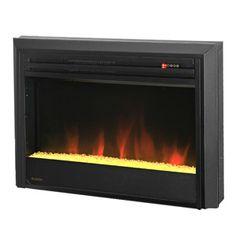 Muskoka 25-in Contemporary Plug-In Electric Fireplace Insert - MFBC27TBL3A-5