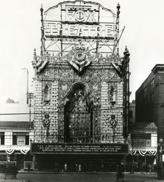 <big>The Fox Theatre originally opened as part of William Fox's movie palace empire in 1929.  The architect, C. Howard Crane, built both the Fox in St. Louis and its twin theater in Detroit in Siamese Byzantine style.  </big><br>Photo courtesy of MO Historical Society.