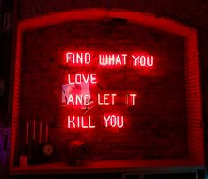 Stay wild, fight back honey //Circé Neon Aesthetic, Quote Aesthetic, Neon Quotes, I See Red, Neon Words, Red Rooms, Stay Wild, Neon Lighting, Neon Signs