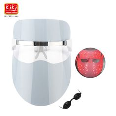 2017  KIKI 32 LEDs  Facial Mask Red color Photon Electric Skin PDT Boosts blood circulation Relieves stress on skin #Affiliate