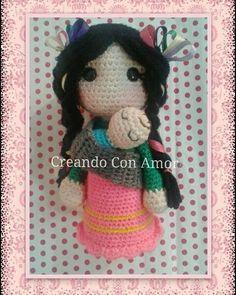 #creandoconamor #mariabonita #muñeca #amigurumi #amigurumis #tejer #artesanía #muñecaamigurumi #tejiendo #crochet #ganchillo