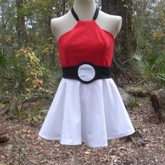 63Hey, I found this really awesome Etsy listing at https://www.etsy.com/listing/211037756/pokeball-dress-pokemon-cosplay-costume