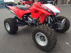 New 2014 Honda TRX 450R (Elec Start) ATVs For Sale in Oregon. 2014 Honda TRX 450R (Elec Start), 2014 Honda® TRX®450R (Elec Start) Performance That s Been Proven Time And Again. Availability: September, 2013. If you re looking for a sport ATV with a serious racing pedigree, then you ve found it: the TRX®450R. Winner of multiple Baja 1000s, the TRX®450R offers up an ideal mix of performance, handling and power, thanks to a MX-inspired Unicam® liquid-cooled four stroke engine. Pro-Link®…