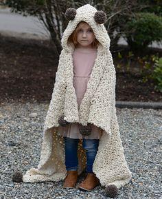 BRONSON hooded blanket