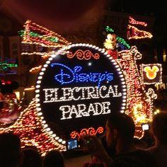 Main Street Electrical Parade, Magic Kingdom, Orlando, FL
