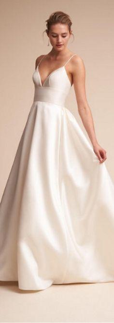 satin gown