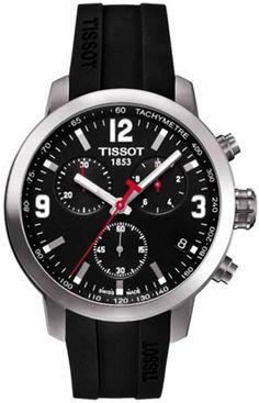 T055.417.17.057.00, T0554171705700, Tissot prc 200 quartz chrono watch, mens