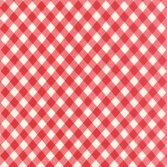 """108"""" Vintage Picnic Red by Bonnie and Camille for Moda"""