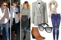 Steal Airport Style from Your Favorite Celebs - Celebrity Airport Style - Elle - Emma Stone Style!