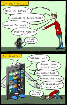 mobile: mind vs reality