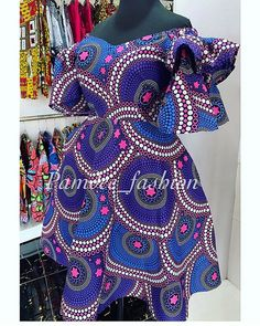 Style and fashion ideas meant for gals. Look and feel awesome in the in demand reasonably-priced street fashion. (Plus Size Womens Fashion Blazer). Short African Dresses, African Blouses, Latest African Fashion Dresses, African Print Dresses, African Print Fashion, Africa Fashion, Ankara Fashion, Trendy Ankara Styles, Ankara Gown Styles