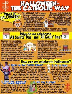 Celebrate Halloween in a 'holier' way: A list of saint-inspired events for All Saint's Day and All Soul's Day Catholic Religious Education, Catholic Answers, Catholic Crafts, Catholic Kids, Catholic Traditions, Roman Catholic, Catholic School, Catholic Holidays, Catholic Memes