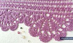@ MyPicot - Free crochet edging pattern