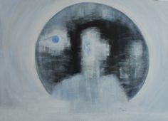 "Saatchi Art Artist Min Zou; Painting, ""To see and listen"" #art"