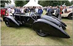 Mercedes Benz 710 SSK Trossi Roadster Cartier Style et Luxe Goodwood Festival of Speed 2008