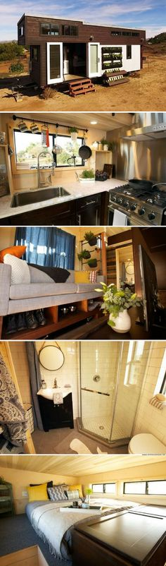 The Survival tiny house