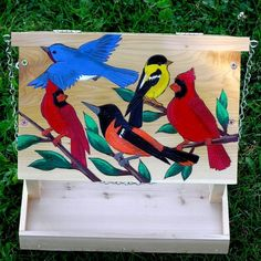Very Beautiful Hopper Bird Feeder