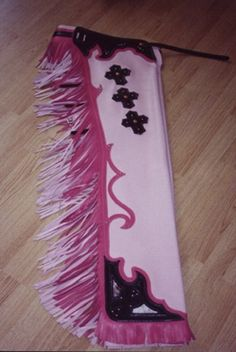 Custom made two tone pink rodeo chaps with hair-on underlay, two color fringe and nickle spots. Riding Cowgirl, Cowgirl Baby, Bull Riding, Cowgirl Style, Couple Halloween Costumes For Adults, Couple Costumes, Pirate Costumes, Group Costumes, Adult Costumes