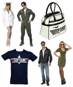 Top Gun Clothing and Costumes at SimplyEighties.com