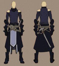 black swordnman - concept by *MizaelTengu on deviantART