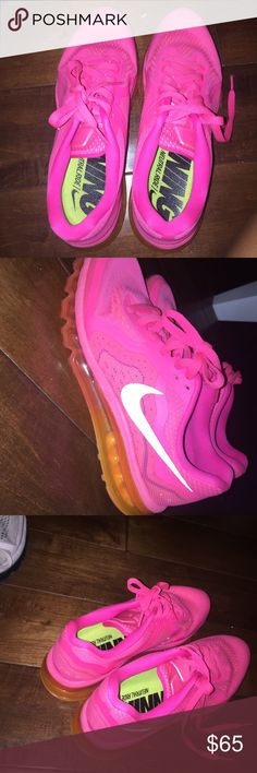 Nike shoes 🎉 Nike 2014 air maxes women's size 9 worn a couple times no damage slightly dirty Nike Shoes Sneakers