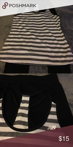 NB workout top and generic leggings set small New Balance Both NWOT nice workout outfit New Balance Other