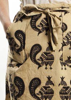 Fenwick Block Print Wrap Skirt found via @Jessica Comingore http://blog.jessicacomingore.com/2012/06/friday-favorites_22.html