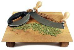 Mezzaluna Choppers - great for chopping herbs!
