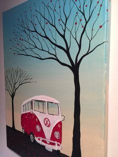 Pintura original VW Bus-apenas una brisa-12 x por MichaelHProsper