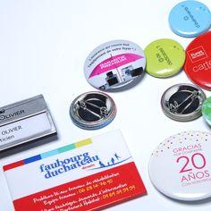 Objet Publicitaire - Goodies - Badge Bouton Badge Nominatif