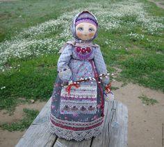 """Купить Кукла в русском народном стиле """"Василиса"""" 2. - серый, русский стиль, русская традиция"""