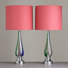 Designer Table Lamps Purple
