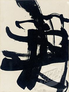 Untitled 1950 Franz Kline American) Ink on paper Stock Photo Franz Kline, Action Painting, Painting & Drawing, Willem De Kooning, Abstract Expressionism, Abstract Art, Modern Art, Contemporary Art, Famous Art