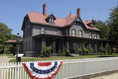 James A. Garfield National Historic Site in Mentor, OH, preserves the home of the 20th President of the United States, James Abram Garfield.